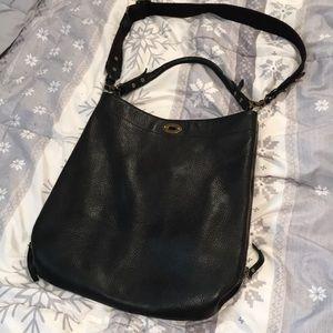 100% genuine leather j crew Crossbody boho bag